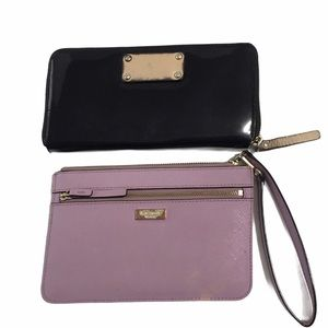 KATE SPADE WALLET AND CLUOCH